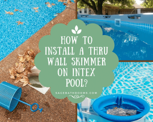 How To Install A Thru Wall Skimmer On Intex Pool?