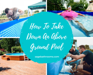 How To Take Down An Above Ground Pool