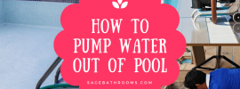 How To Pump Water Out Of Pool