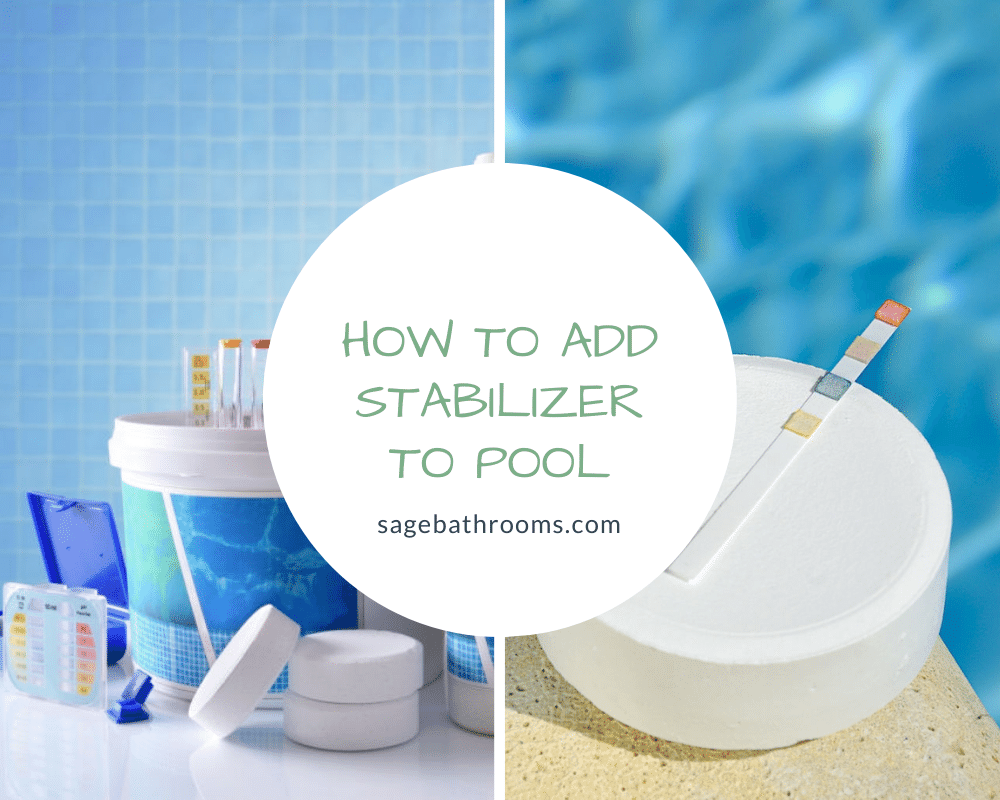 How To Add Stabilizer To Pool
