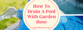 How To Drain A Pool With Garden Hose