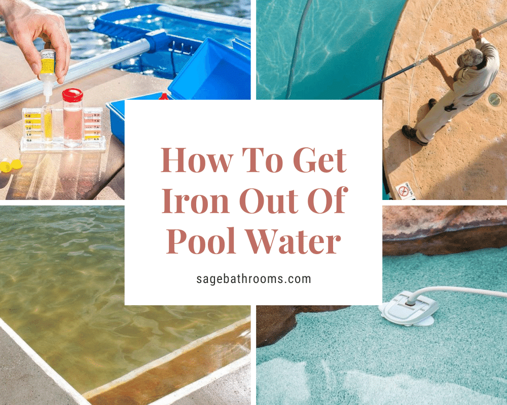 How To Get Iron Out Of Pool Water